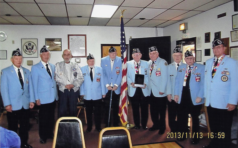 KWVA Chapter #142 with NUAC plaque